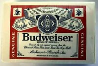 Budweiser King of Beers Playing Cards Anheuser-Busch New In Box- Sealed