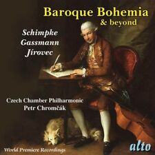 CD BAROQUE BOHEMIA AND BEYOND CZECH CHAMBER PHILHARMONIC JIROVEC PETR CHROMCAK