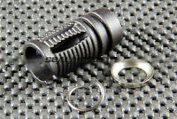 A.P.S. Airsoft Toy Steel Muzzle Flash Hider 14mm CW APS-BB010A