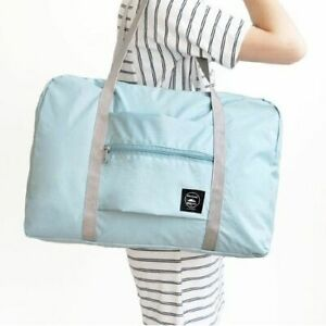 Nylon Foldable Travel Bag Unisex Large Capacity Bag Luggage Waterproof Handbags