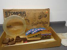 Vintage Schaper Stomper Ssc Super Cycle Daredevil Loop Set Track w/ Box 1981
