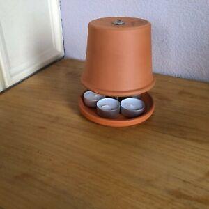 Teelichtofen in neuem Design