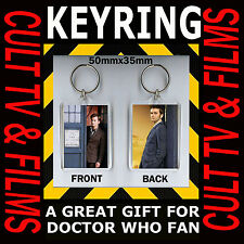 Doctor Who-David Tennet-The Tenth Doctor –Cult Tv Keyring 35mmx50mm