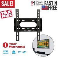 "Tilt LCD LED PLASMA FLAT TV WALL MOUNT BRACKET 23 25 27 32 40 42"" INCH US SHIP"