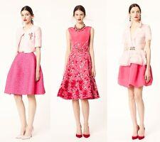 ICONIC R'14/Look17 GORGE DIVINE Oscar De La Renta pink/fuschia brocade dress set