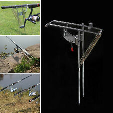Great Stainless Steel Double Spring Sea Fishing Rod Easy Stand Bracket Holder X