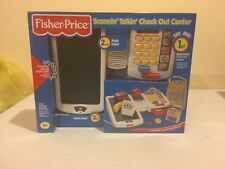 Vintage Fisher Price Scannin' Talkin' Check Out Center NIB Super Rare