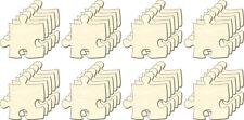 Blanc Puzzle infini, Taille S, Set 40 Pièces, Pièces de Puzzle en bois, Dessiner