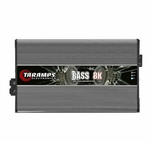 Taramps BASS 8K 1 Ohm Amplifier BASS8K HD 8000 Watts Taramp's Amp 3-Day Delivery