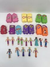 2006 Polly Pockets McDonalds Toys Cases w/Dresses Figures Lot