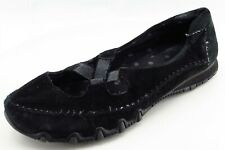 Skecher Size 8.5 M Black Mary Jane Leather Women Shoes