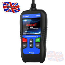 ICARSOFT I800 OBD2 Code Reader Diagnostic Scanner CANBus tool Black