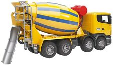 Scania Cement Lorry with tipping trough – Bruder 03554