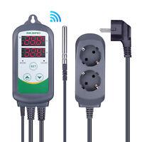 EU Plug Inkbird ITC308 Wifi Pre-wired Temperature Controller Thermostat 230V APP