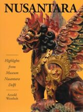 Book: Nusantara Indonesia art Keris statue Kris Swords tribal weapons mask spear