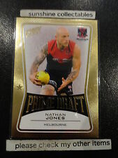 2013 AFL SELECT PRIME DRAFT PD29 NATHAN JONES MELBOURNE 068/145