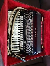 Noble Accordion w/Case Made in Italy 40063 13507