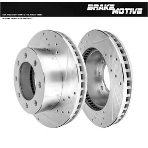 Front Brake Rotors For 2005 2006 2007 2008 2009 2010 Ford F250 F350 4X4 4WD