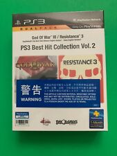God Of War 3 / Resistance 3 Dual Pack Ps3 Best Hit Collection Vol 2 Hong Kong