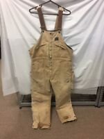 Polar King By KEY Mens Overalls 38x29 Distressed Overalls Work Cold Weather