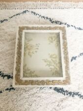 Shabby Chic, Vintage Style Wooden Display Case Cabinet, Memory Box, Shadow Box