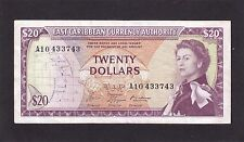 East Caribbean States  $20  1965 P-15g  VF