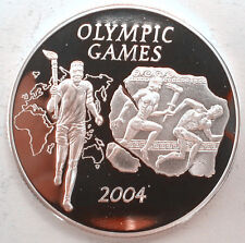 Ghana 2003 Olympics Games 500 Sika Silver Coin,Proof