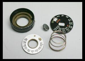 202356 PENTAX K1000 SHUTTER SPEED DIAL ISO DIAL REPAIR PART USED K-1000