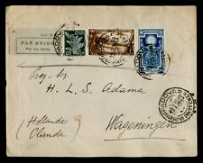 DR WHO 1934 ITALY PADUA AIRMAIL TO NETHERLANDS 158800