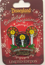 Disneyland 2016 Candlelight Processional Stained Glass Christmas LE Disney Pin
