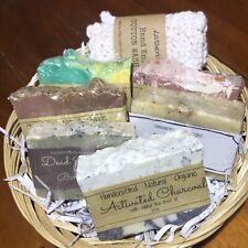 6 Soaps For Treating Acne & Problem Skin Pack, Handmade, Natural, Organic,