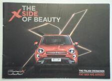 FIAT 500X orig 2014 2015 UK Mkt Sales Brochure - 500 X