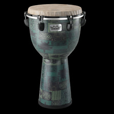"Remo Apex Designer Series 12"" Djembe with Lightweight Moulded ABS Shell - Green"