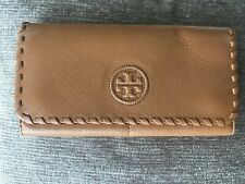 Tory Burch Whip Stitch Wallet Saddle