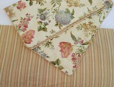 New Waverly ~ 3pc Queen Sz. Bed Skirt & Full Size Pillow Shams Vintage