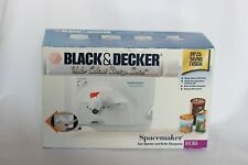 Black & Decker EC85 Spacemaker Undermount Can Opener Knife Sharpener White