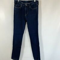 AG Adriano Goldschmied Womens Size 26 Jeans Skinny Dark Wash Cotton Stretch