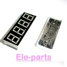 10 Pcs 4 Digits 036green 7 Segment Led Display Common Cathode 12 Pins 4 Digit