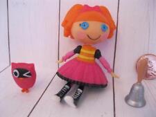 "Lalaloopsy MINI 3"" DOLL set: Bea Spell's A Lot alot Pet Owl/School Bell playset"