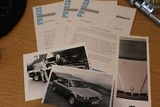 BMW M635CSi 635Csi e 750 il Press Pack per unità di prova da altwood 1989
