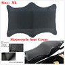 Universal Motorcycle Cool Seat Cover 3D Mesh Waterproof Shock Absorption Sun Pad