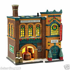 DEPT 56 CHRISTMAS IN THE CITY SERIES - THE BREW HOUSE #4036491  NIB