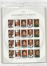 2014 #4922-4926 Celebrity Chefs Pane of 20 Mint Regular