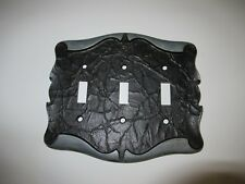 Vintage Amerock Carriage House  3 Gang Triple Toggle Light Switch Cover