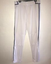 Adidas Mens Baseball Pants White Purple Player 10 Size 42 B46
