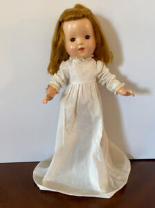 """Unmarked  Vintage 14"""" Composition Project Doll"""