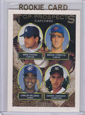 Mike PIAZZA ROOKIE CARD Topps GOLD RC Baseball Insert Catchers DODGERS NY METS!