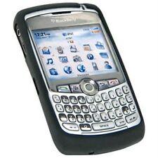 Black SILICONE CASE SKIN COVER for Blackberry 8300 8310 8320 8330 tm094