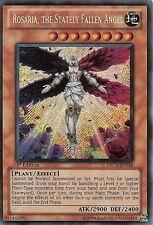 YU-GI-OH: ROSARIA, THE STATELY FALLEN ANGEL - SECRET RARE - PRC1-EN016 - 1st ED