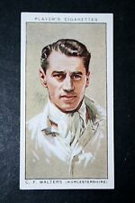 Worcestershire CCC   Walters    Vintage Cricketer Card   VGC